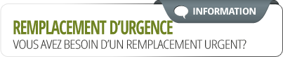 Placement d'urgence